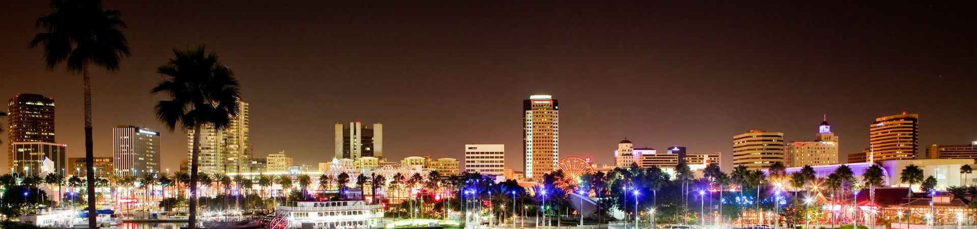 long-beach-night-city-scape