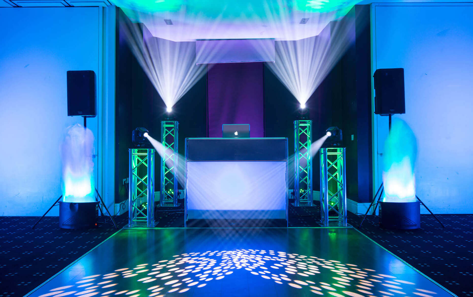 Dance Floor Lighting Packages & Specials - Weddings Till Dawn Spring Special