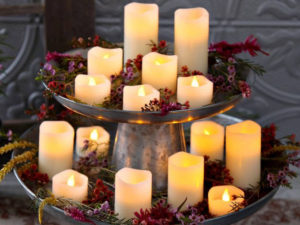 Flameless Candles - Event Decor - Till Dawn Productions