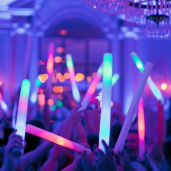 LED foam sticks - Weddings Till Dawn