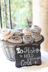 Innovative Wedding Ideas - Blanket Basket - Weddings Till Dawn